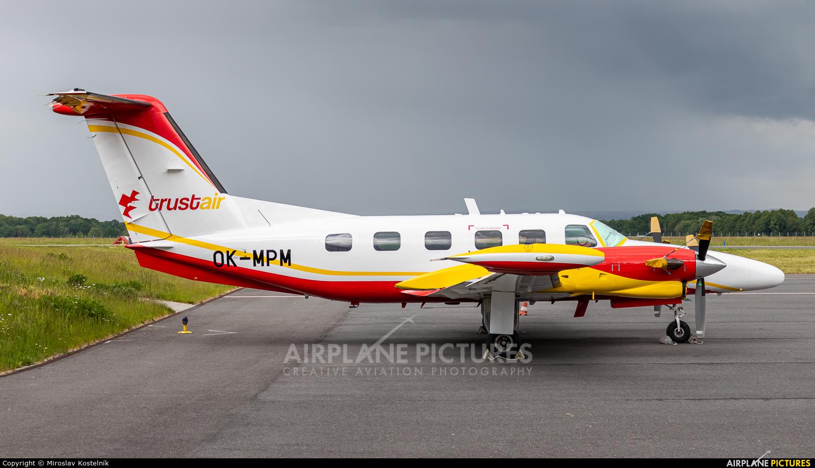 Private OK-MPM aircraft at Ostrava Mošnov