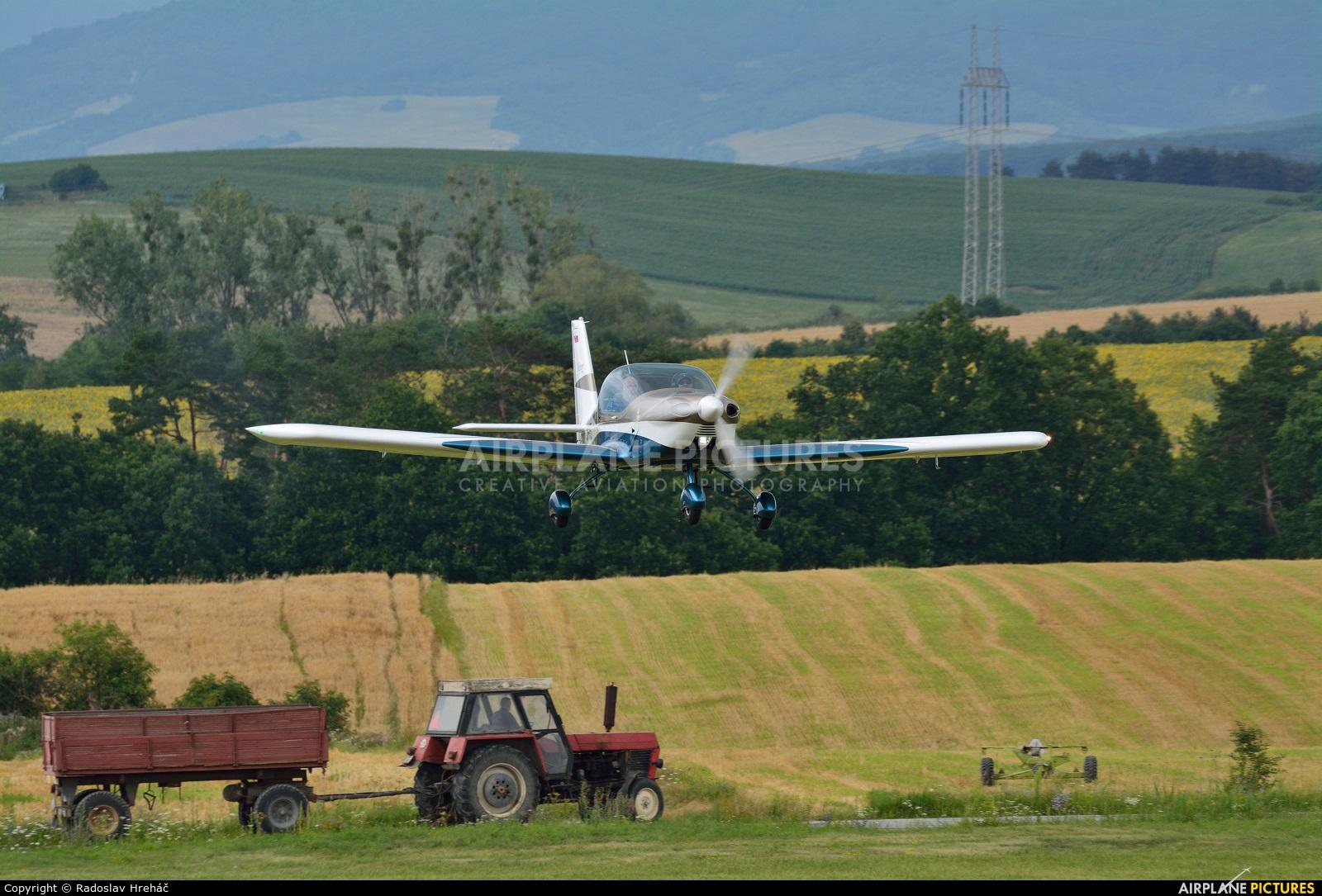 Private OM-FFL aircraft at Bidovce