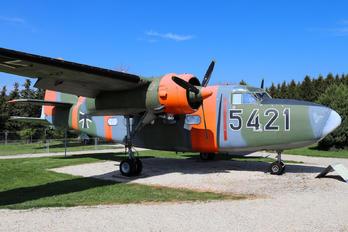 54-21 - Germany - Luftwaffe (WW2) Percival P.66 Pembroke C.1