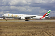 A6-ECS - Emirates Airlines Boeing 777-300ER aircraft