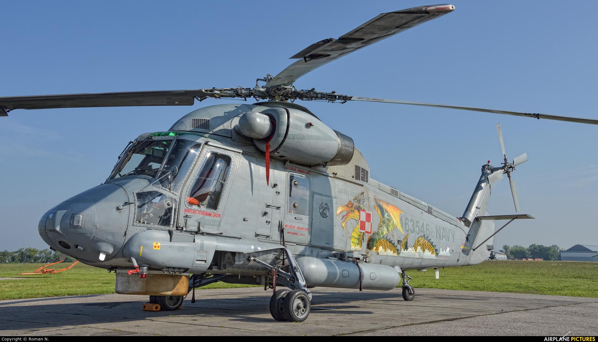 Poland - Navy 163546 aircraft at Inowrocław - Latkowo