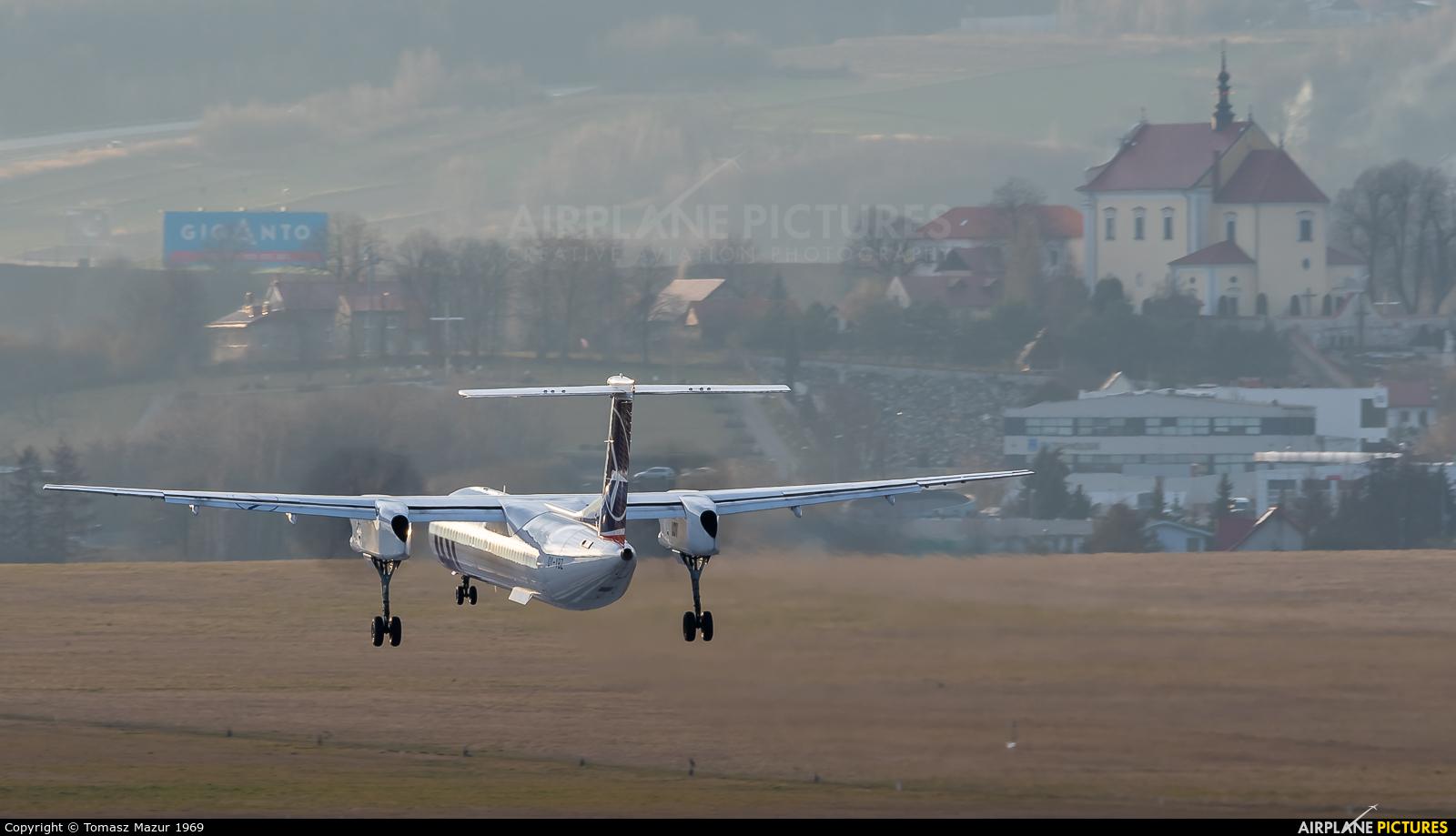 LOT - Polish Airlines OY-YBZ aircraft at Kraków - John Paul II Intl