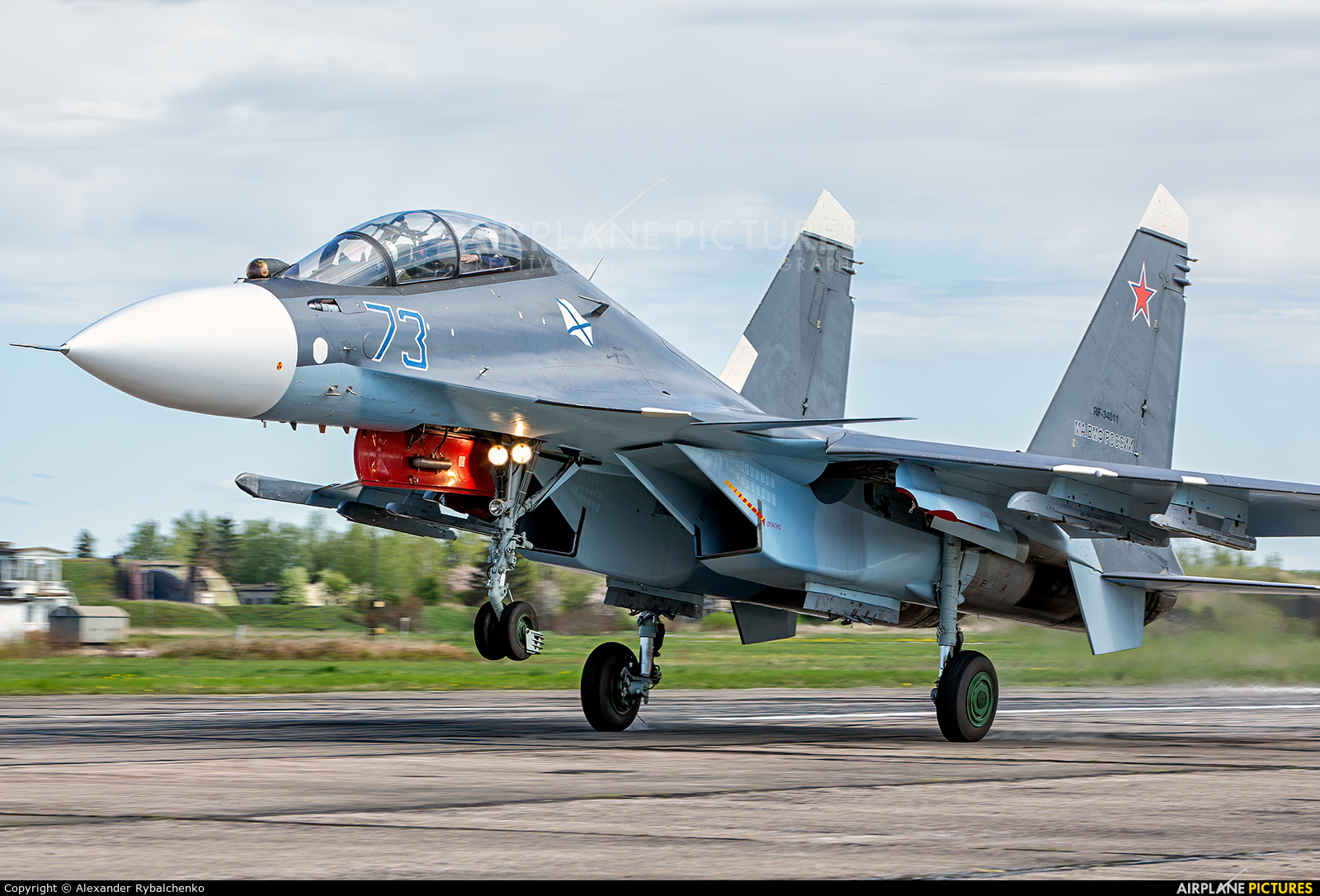 Russia - Navy RF-34011 aircraft at Undisclosed Location