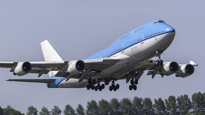 PH-BFS - KLM Boeing 747-400