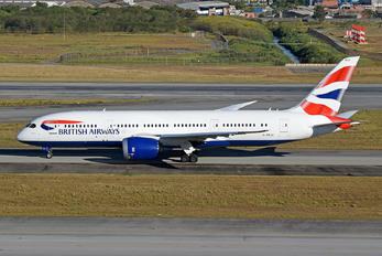G-ZBJJ - British Airways Boeing 787-8 Dreamliner
