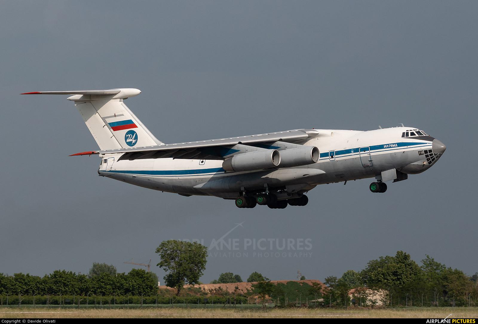 224 Flight Unit RA-76719 aircraft at Verona - Villafranca