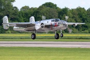 N6123C -  North American B-25J Mitchell