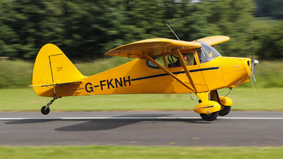 G-FKNH - Private Piper PA-15 Vagabond