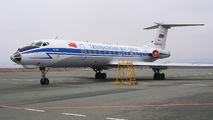 RF-66001 - Russia - Navy Tupolev Tu-134 aircraft
