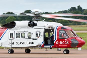G-MCGK - UK - Coastguard Sikorsky S-92A