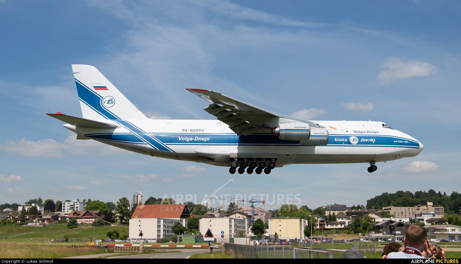 Volga Dnepr Airlines RA-82043 aircraft at Emmen