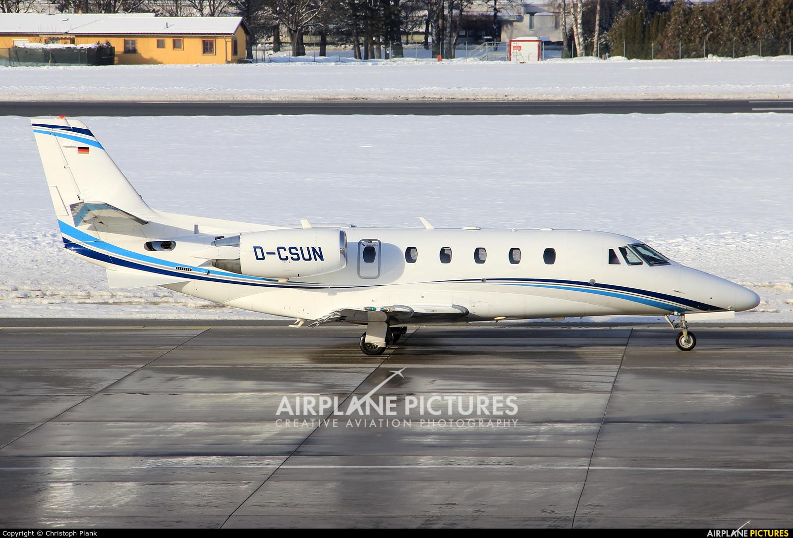 Air Hamburg D-CSUN aircraft at Innsbruck