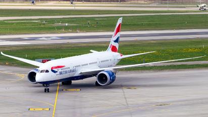 G-ZBJK - British Airways Boeing 787-8 Dreamliner