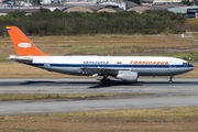 Rare visit of Transcarga International Airbus A300F to Sao Paulo title=
