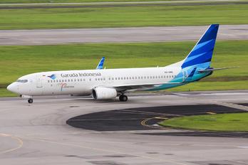 PK-GMD - Garuda Indonesia Boeing 737-800