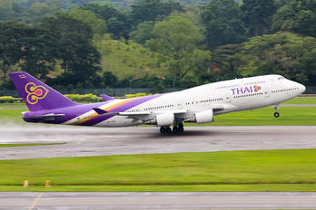 HS-TGO - Thai Airways Boeing 747-400D