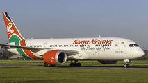 5Y-KZH - Kenya Airways Boeing 787-8 Dreamliner aircraft