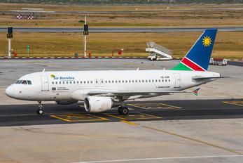 V5-ANK - Air Namibia Airbus A319