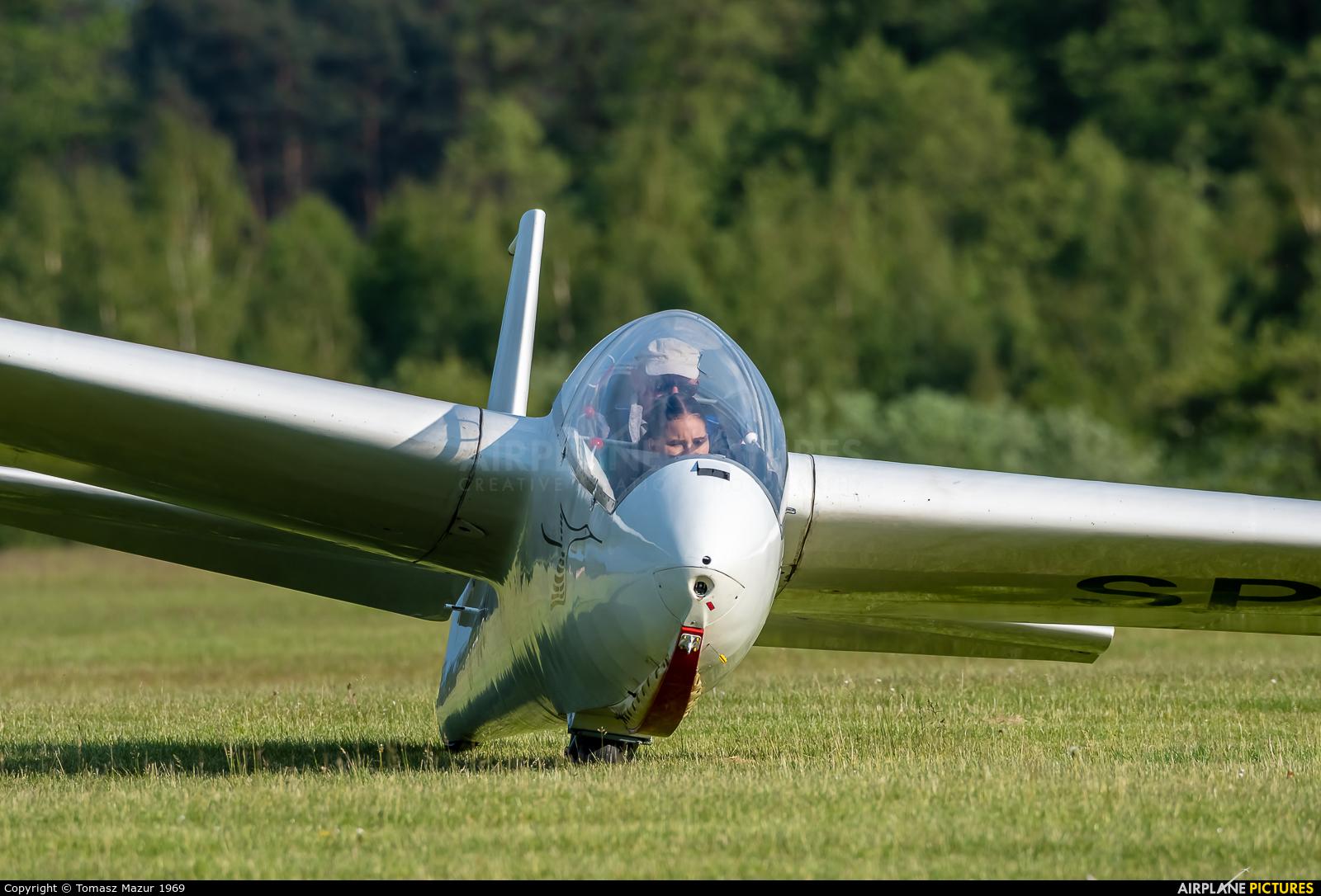 Aeroclub ROW SP-3987 aircraft at Rybnik - Gotartowice