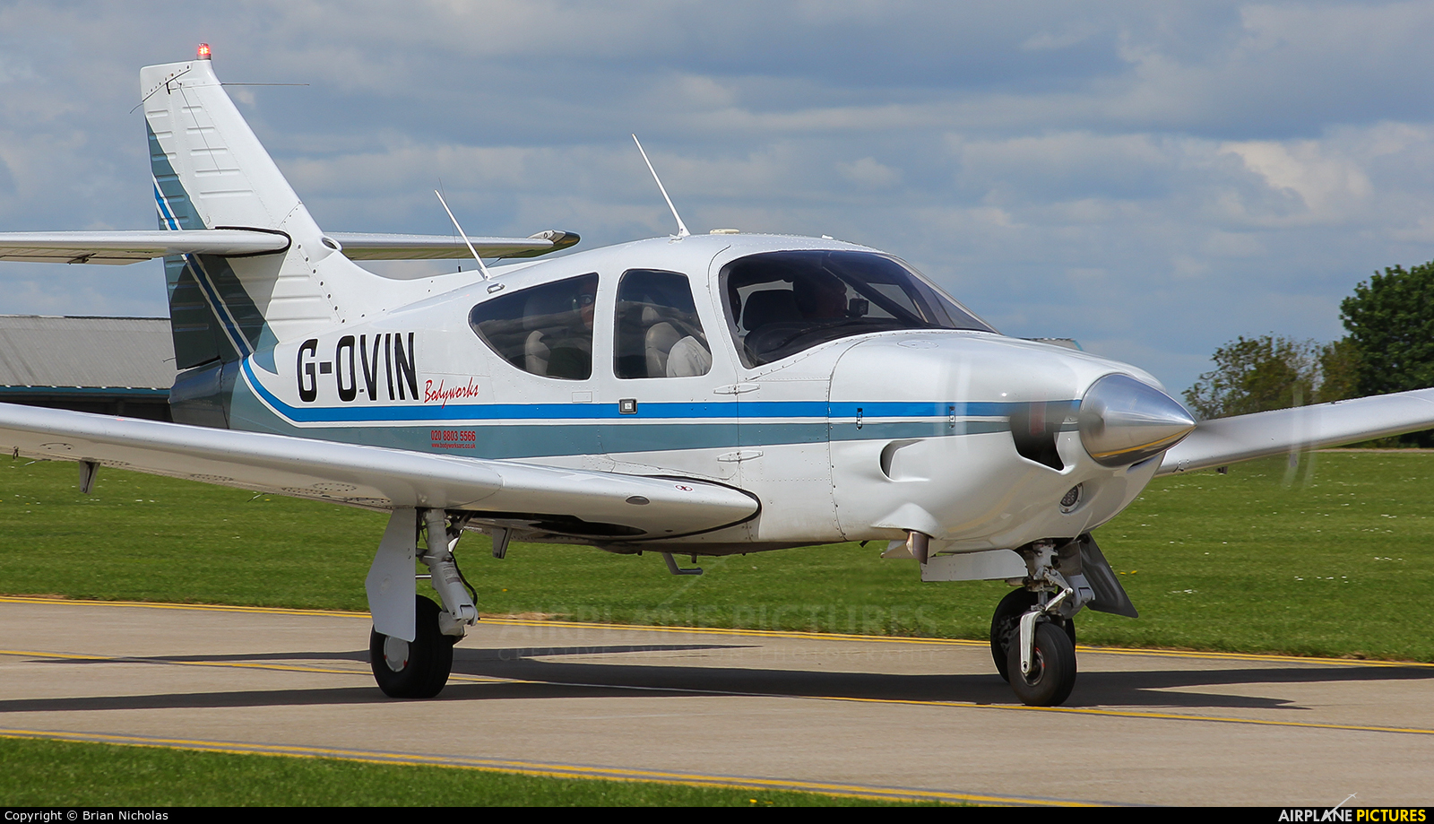 Private G-OVIN aircraft at Northampton / Sywell