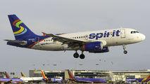 N533NK - Spirit Airlines Airbus A319 aircraft