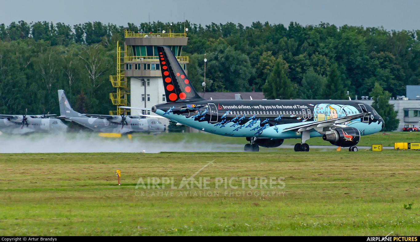 Brussels Airlines OO-SNB aircraft at Kraków - John Paul II Intl
