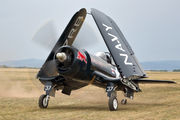 OE-EAS - Red Bull Vought F4U Corsair aircraft