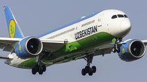 UK78705 - Uzbekistan Airways Boeing 787-8 Dreamliner aircraft