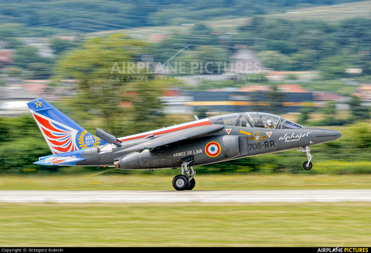 France - Air Force 705-RR aircraft at Sliač