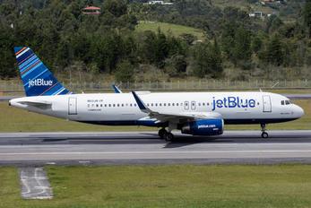 N821JB - JetBlue Airways Airbus A320