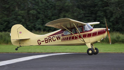 G-BRCW - Private Aeronca Aircraft Corp 11AC Chief