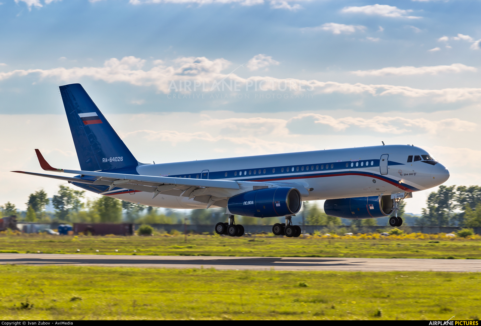 Russia - Ministry of Internal Affairs RA-64026 aircraft at Ulyanovsk - Vostochny