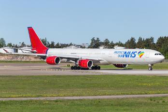 9H-NHS - Maleth-Aero Airbus A340-600