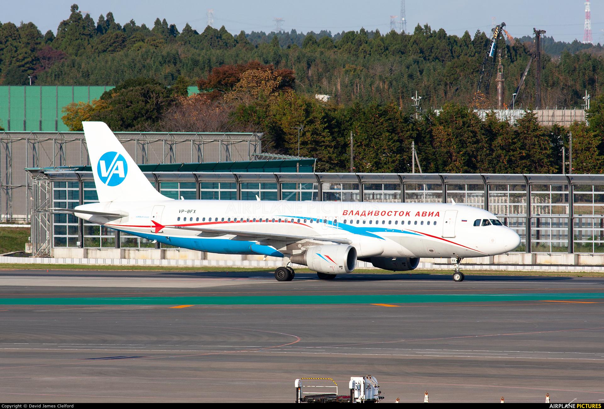 Vladivostok Avia VP-BFX aircraft at Tokyo - Narita Intl