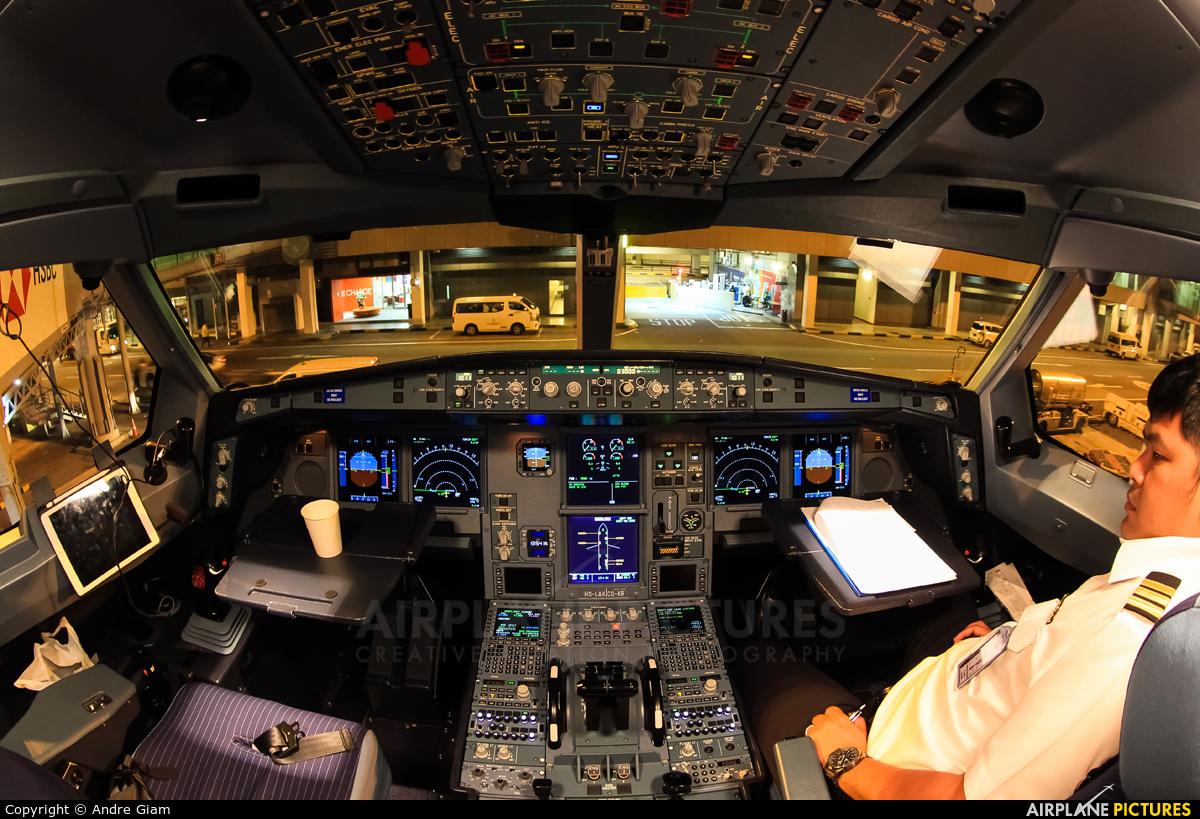 Thai Lion Air HS-LAK aircraft at Singapore - Changi