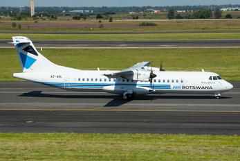 A2-ABL - Air Botswana ATR 72 (all models)