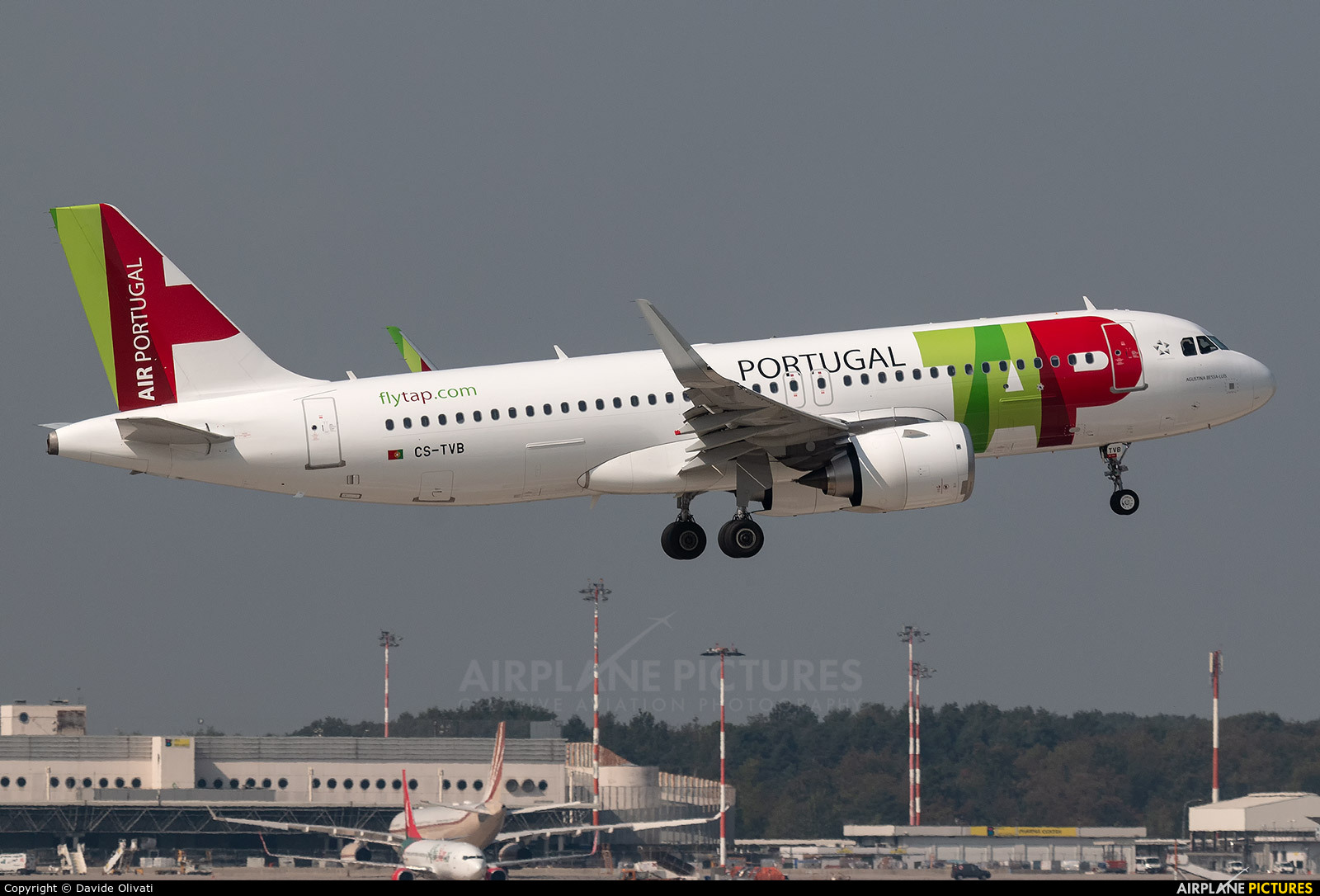 TAP Portugal CS-TVB aircraft at Milan - Malpensa