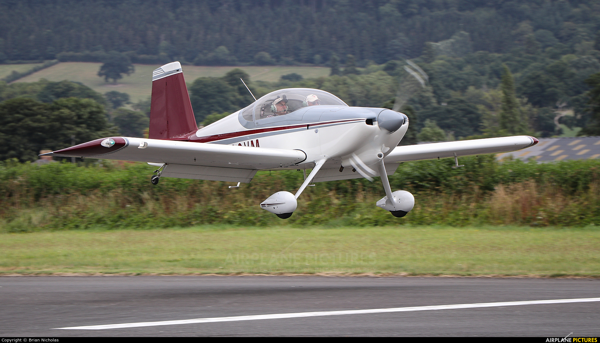 Private G-CCVM aircraft at Welshpool