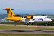 G-HUET - Aurigny Air Services ATR 42 (all models) aircraft
