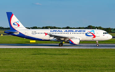 VQ-BQN - Ural Airlines Airbus A320