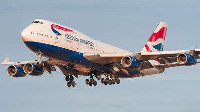 G-CIVJ - British Airways Boeing 747-400