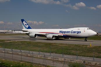 JA17KZ - Nippon Cargo Airlines Boeing 747-8F