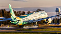 First flight of Etihad to Oslo on Boeing 787-10 title=