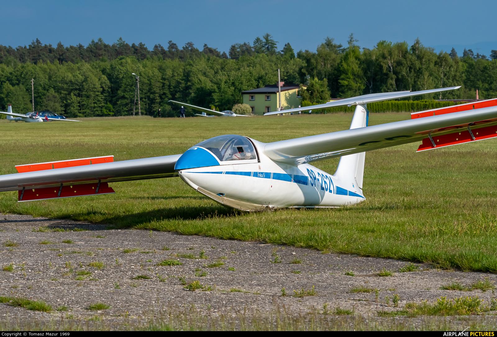 Private SP-2621 aircraft at Rybnik - Gotartowice