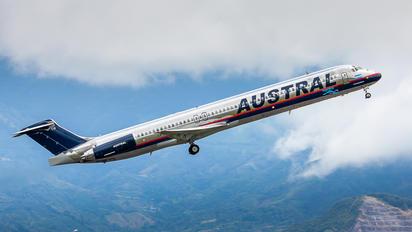 LV-BTW - Austral Lineas Aereas McDonnell Douglas MD-88