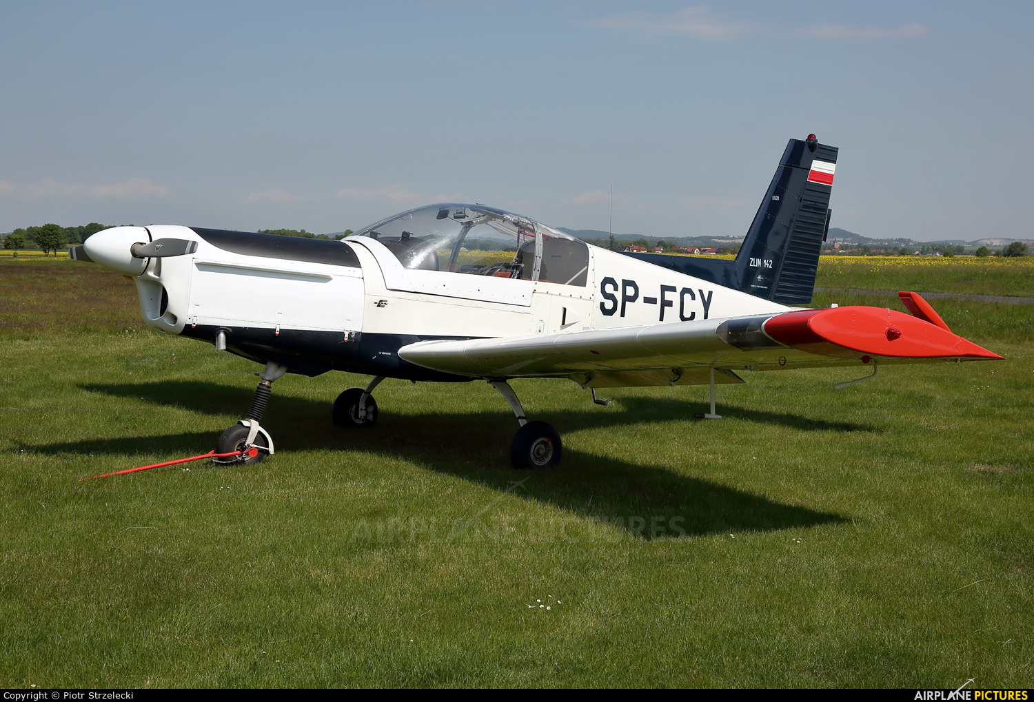Private SP-FCY aircraft at Świebodzice