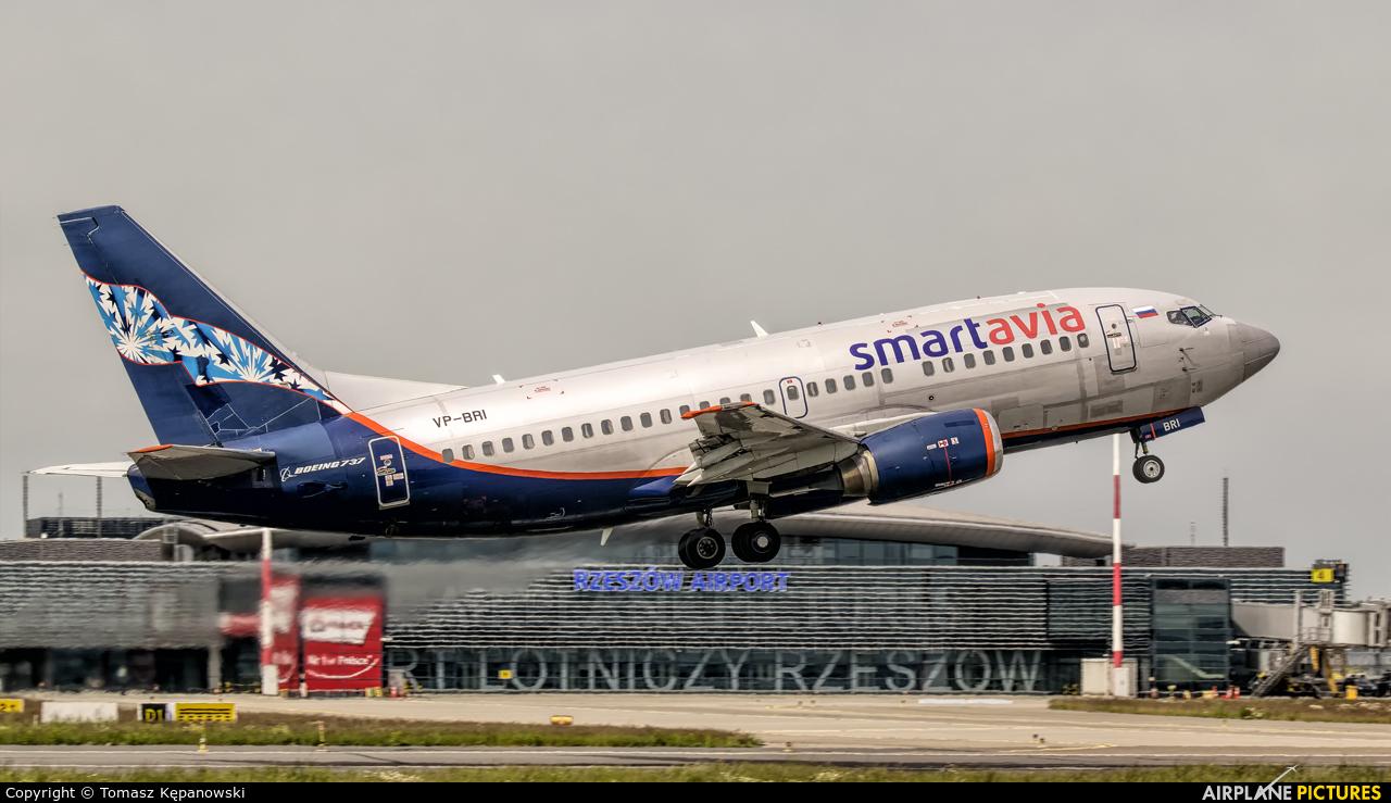 Smartavia VP-BRI aircraft at Rzeszów-Jasionka