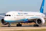 Xiamen Boeing 787 visited Valencia for the first time title=