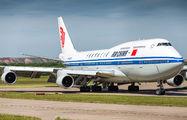 Rare visit of Air China Boeing 747 to Edinburgh title=
