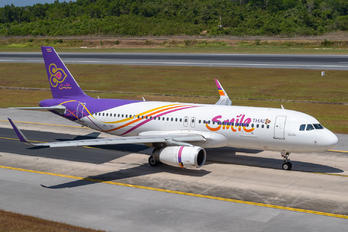 HS-TXS - Thai Smile Airbus A320